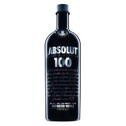 VODKA ABSOLUT BLACK 100 1LT S/ EST VODKA - SUECIA Uni.
