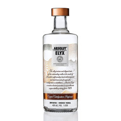 Vodka Absolut Elyx 1lts s/est 1lts, s/est