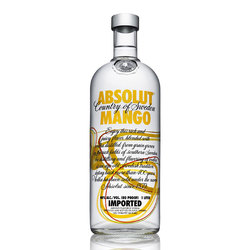 Vodka Absolut Mango 1lts s/est 1lts, s/est