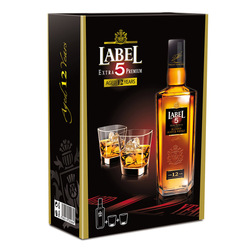 LABEL 5 750ML KIT C/2VA WHIS 8 ANOS Uni.