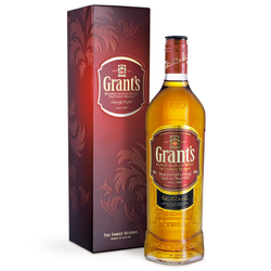 Whisky Grants 1 lts. c/est 8 anos