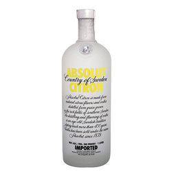 Vodka Absolut Citr¢n 1lts s/est 1lts, s/est