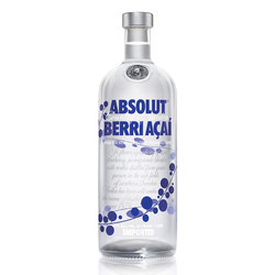 Vodka Absolut Berry A‡a¡ 1lts s/est 1lts, s/est