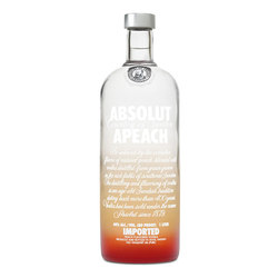 Vodka Absolut Apeach 1tls s/est 1lts, s/est