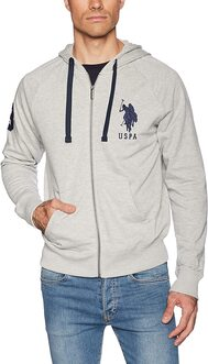 CAMPERA US POLO H.GREY 41380 M